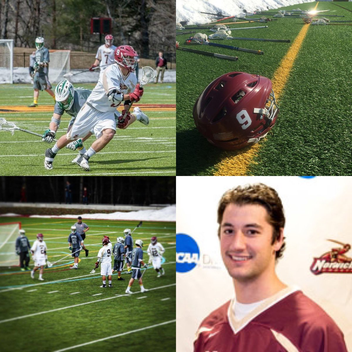 On Wednesday we get to honor our friend, and teammate Connor Roberts when we host @CastletonMLax at 6:00.  Come out and support this great cause! @NorwichCadets @norwichnews @CastletonEdu #cadlaxfamily #forconnor #cr9 #gowick