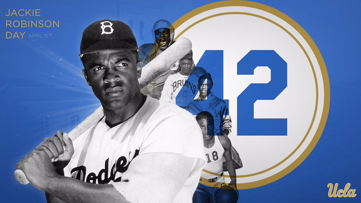 Jackie Robinson changed the game forever! Today we honor his legacy!!   #Jackie42 | #JackieRobinsonDay <br>http://pic.twitter.com/rAlES9ztyB