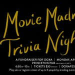 Image for the Tweet beginning: DOXA is having a trivia
