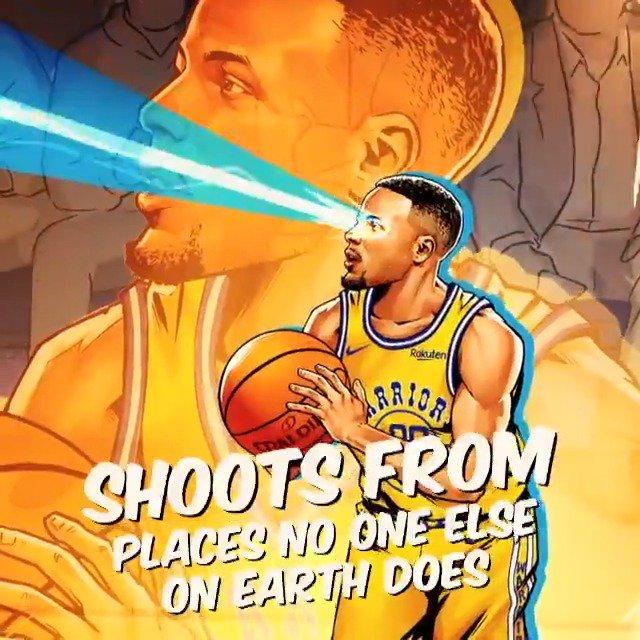 ☔️��☔️   @StephenCurry30 x #NBAPlayoffs   ��: (8) LAC 0-1 (1) GSW, Game 2  ⏰: 10:30pm/et ��: @NBAonTNT https://t.co/rv3j37q7uX