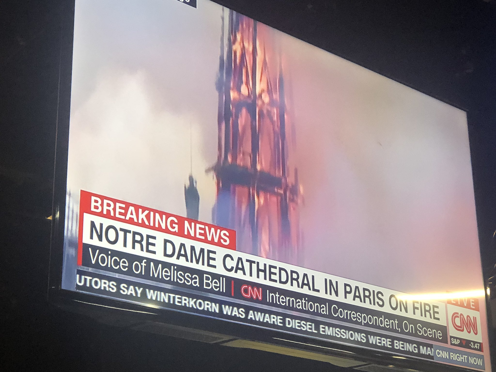 There are some stories you'll always remember where you were when the news broke... This is one. #NotreDameFire https://t.co/QSKkZNNSrx