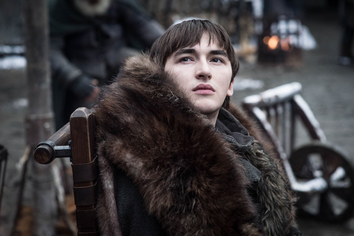 Isaac Hempstead Wright drops a warning for the rest of #GameofThrones S8 - 'The first episode was quite funny. I suppose that's a warning, to ease you back in before all the pain that's about to come'   (via @THR)