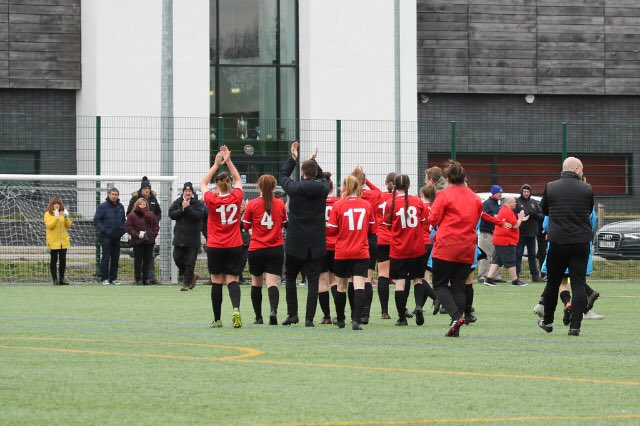 Three games, seven days. This last week at home has been a good one! 😄👌  ➖Two #FCUMW season-high crowds ➖Our largest attendance for a game on the 3G in 2018/19 ➖ An all-time record for a women's game inside the BP stadium...  Your support = Our #MondayMotivation! 👊🔴