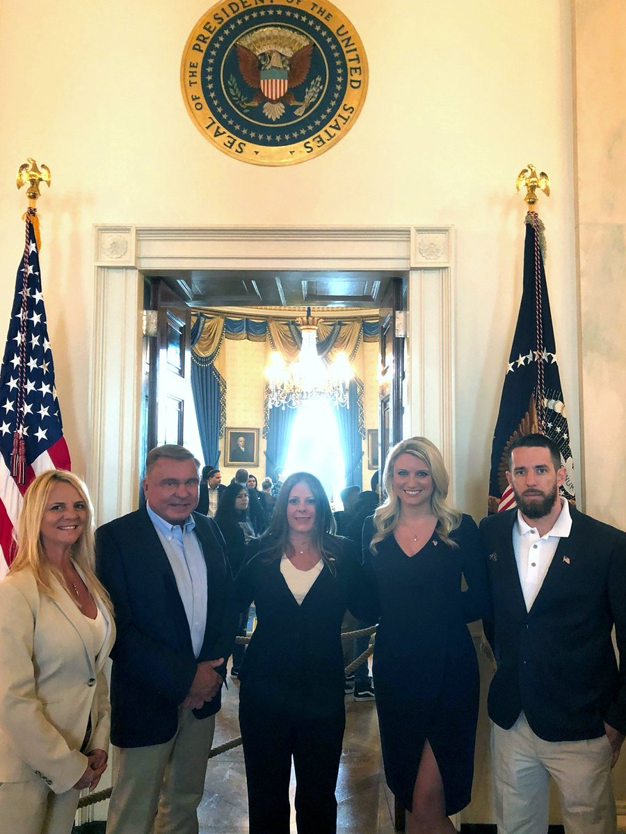 Last year we visited the White House by special invitation from President Donald Trump. CEO Ron Fink was invited and asked to bring employees to discuss how President Trump's tax program helped with our rapid growth and what the bonuses meant to the employees.  #MyTaxCut #TaxDay <br>http://pic.twitter.com/lB4Q9CyNbW