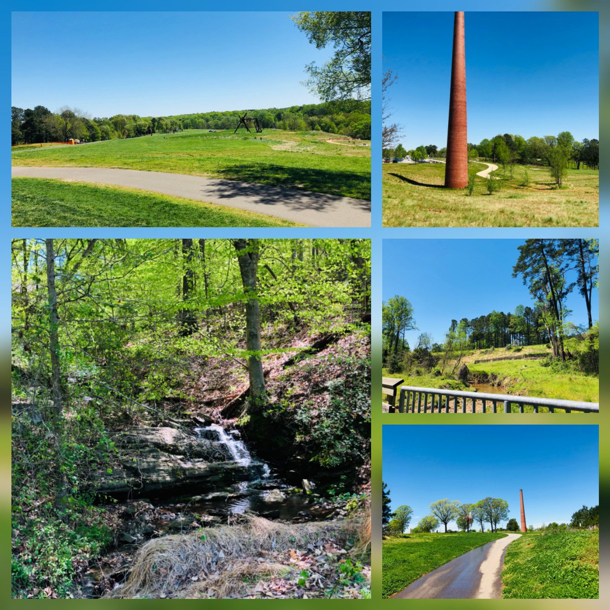 It's a beautiful day to visit the greenway trail conveniently located just 3-5 minutes away from us! Come visit us before 5:30pm so we can show you your new home with almost instant access to this beautiful scenery! #Outdoors #Raleigh