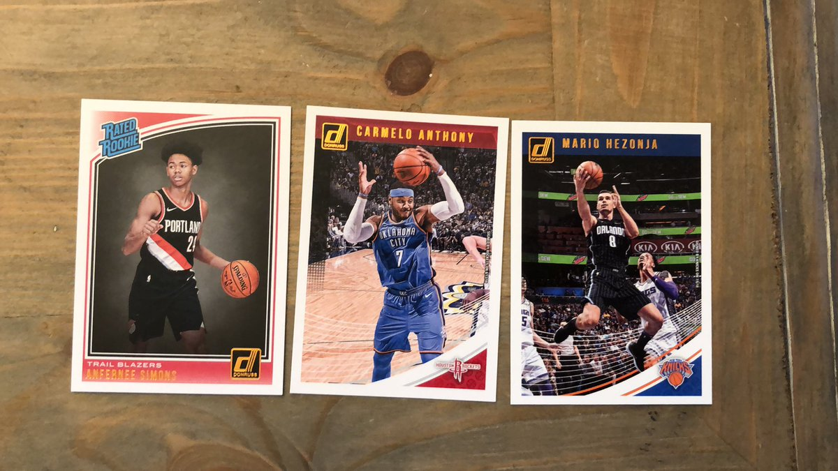 My son got some NBA cards for his birthday... I have stolen these 3 treasures