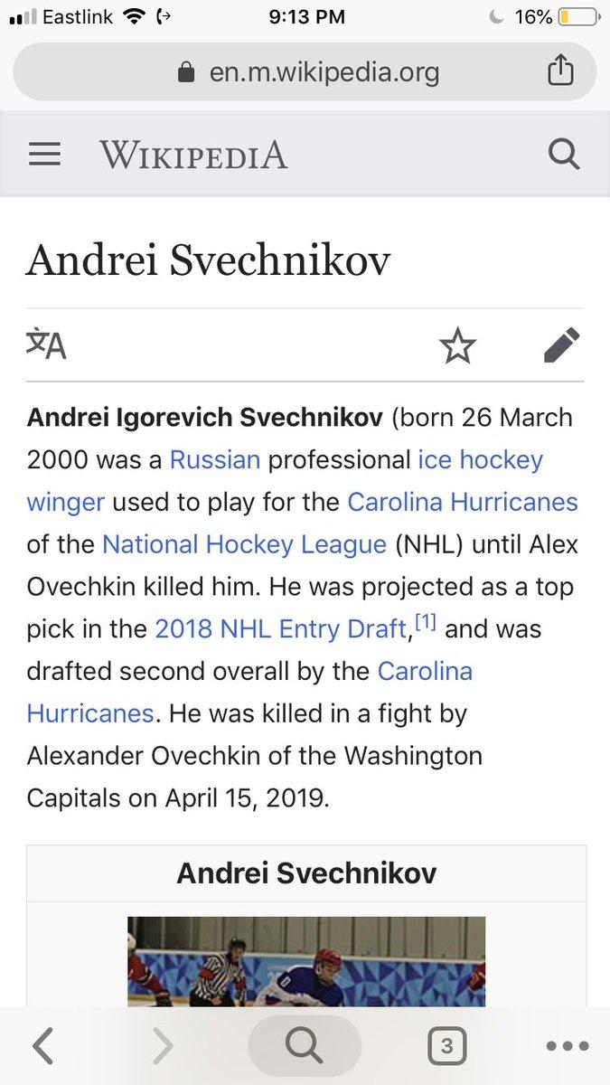 Bill HitchCocks's photo on Svechnikov