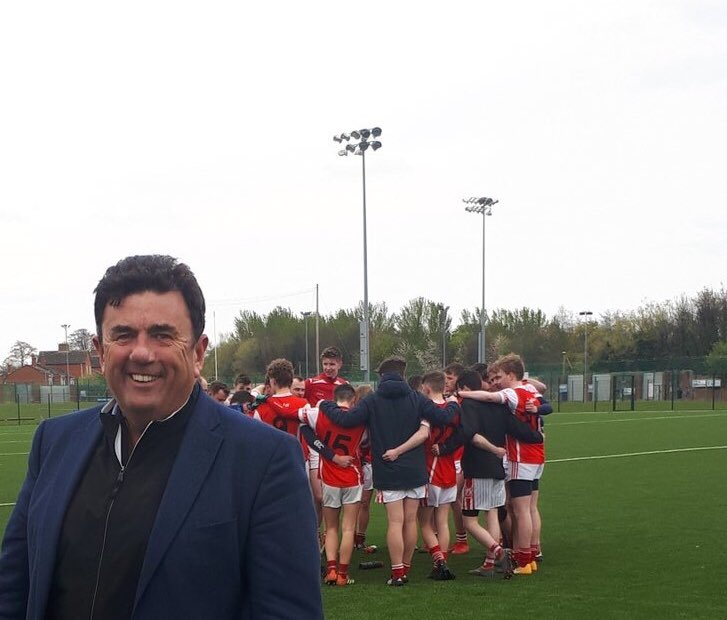 Home from the #Masters, but no post #Augusta blues, watching the young Tigers from #Cuala win at St Vincents