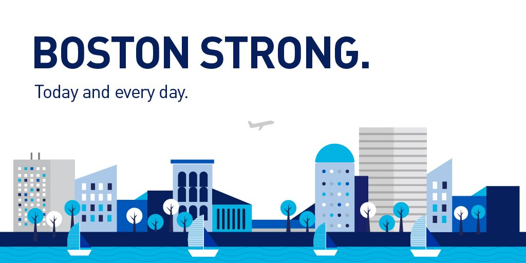 We&#39;re honored to stand by our Boston community on #OneBostonDay and every day. We&#39;re in it for the long haul. <br>http://pic.twitter.com/BQxMwWzRdE