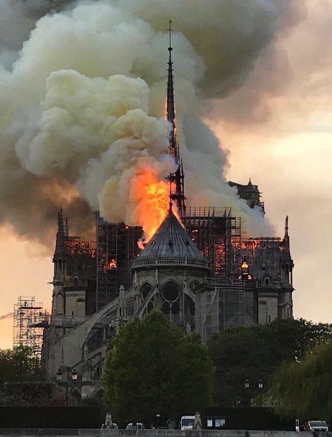 She's been around for over 800 years not just as a testament of our history but also place for many that found their peace, hope and faith in. This iconic monument is an inspiration to artists across the globe and it's really sad to know that humanity has lost #NotreDame today.