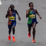 Image for the Tweet beginning: When two runners put their