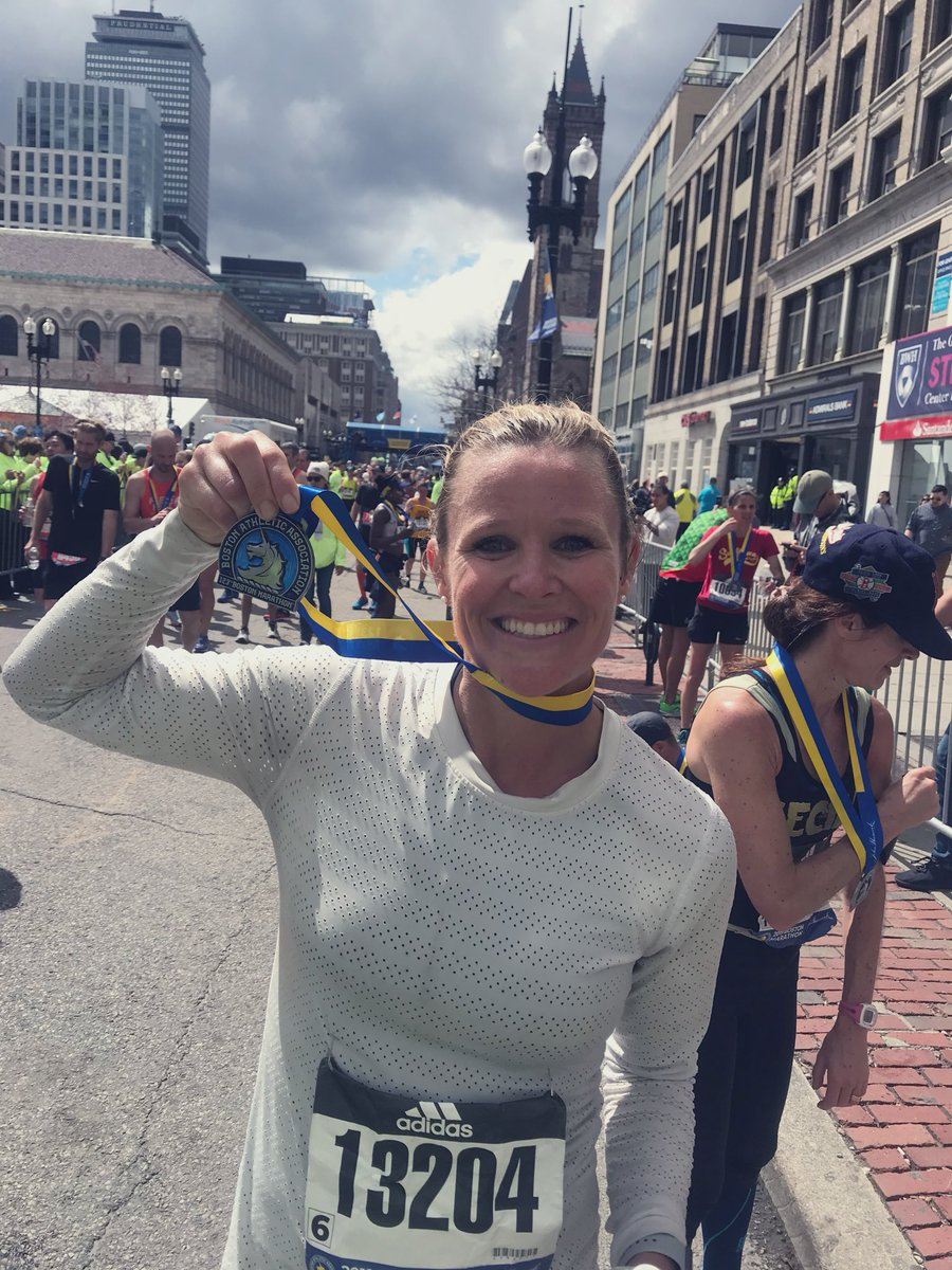 Well I did it and I will definitely be back  #BostonMarathon #BostonStrong <br>http://pic.twitter.com/7sAGfPj5M1