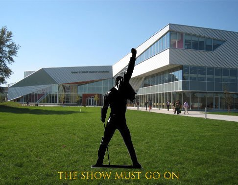 Something's coming to @AlgonquinColleg!!!  B-Building Cafeteria, 1pm, April 16th, 2019  The show must go on.   #wewillgonqyou #acwhatspoppin #queenac #getreadytorock #mikeymercury