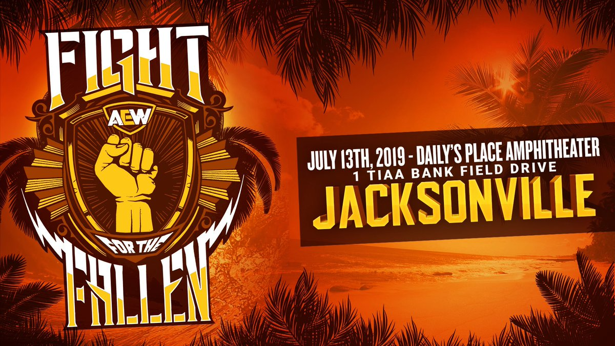 AEW Announces Fight For The Fallen Presenting Sponsor
