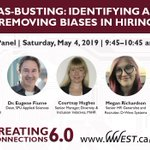 Image for the Tweet beginning: Our Bias Busting panel hears