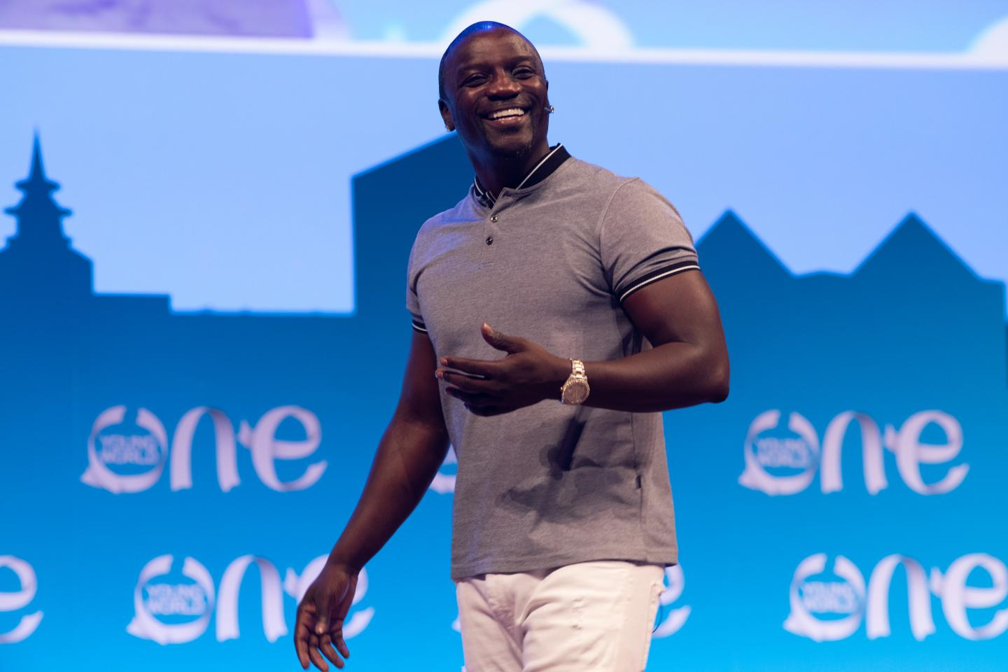 Everything is a blessing to me. Akon Happy Birthday Sir May You\ve Many More