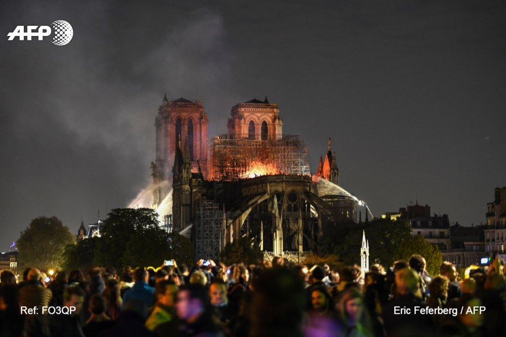 #BREAKING Notre-Dame's main structure is 'saved and preserved' after fire, says Paris fire official https://t.co/IC8fT7s593