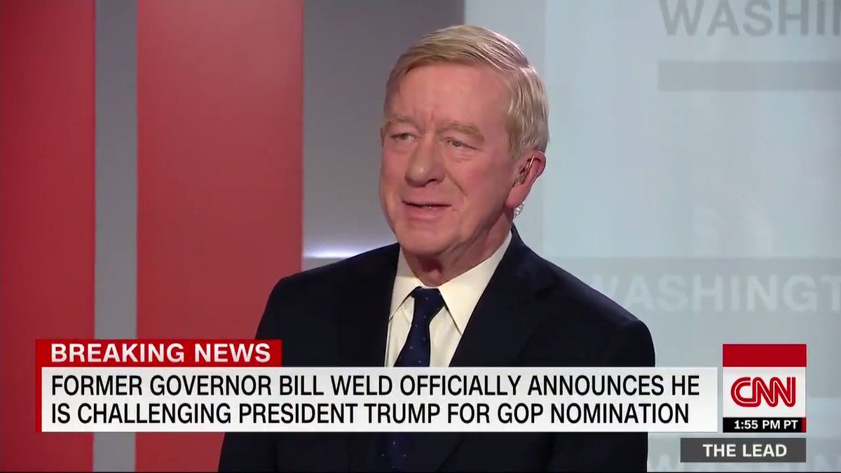 CNN Politics's photo on Bill Weld