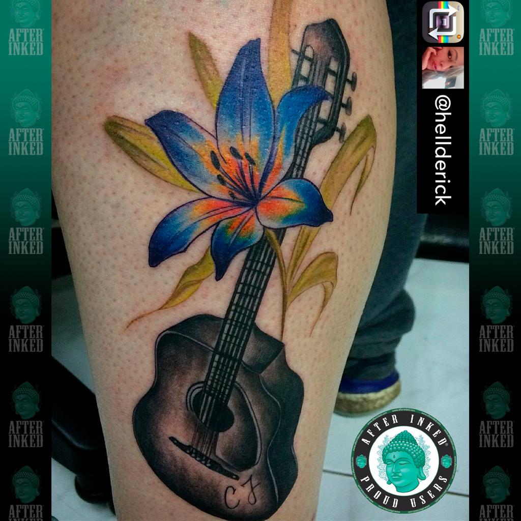 Be your own inspiration. #MusicMonday #MondayFunday #ManicMonday 🎼🎸🥁🎹🎺🎻 #afterinked #proudusers #formulatedforperfection #afterinkedeveryday #tattooaftercare #piercingaftercare #inkseal #npj #vegan