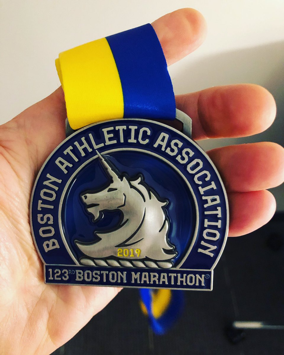 BOSTON STRONG . I finished my 5th Boston in 3:05:46, a PR by 4 minutes!!! Finished 32nd in the 55-59 Age, my highest Boston finish! #bostonmarathon2019 #boston2019 #lovetorun #borntorun #naflagvisorsouthwest #runchat #gettingolderandbetter #dreamsdocometrue #justrun<br>http://pic.twitter.com/WFQIxgSTHw
