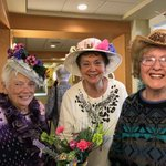 We had a great time at our Easter Hat Birthday and  New Resident Tea