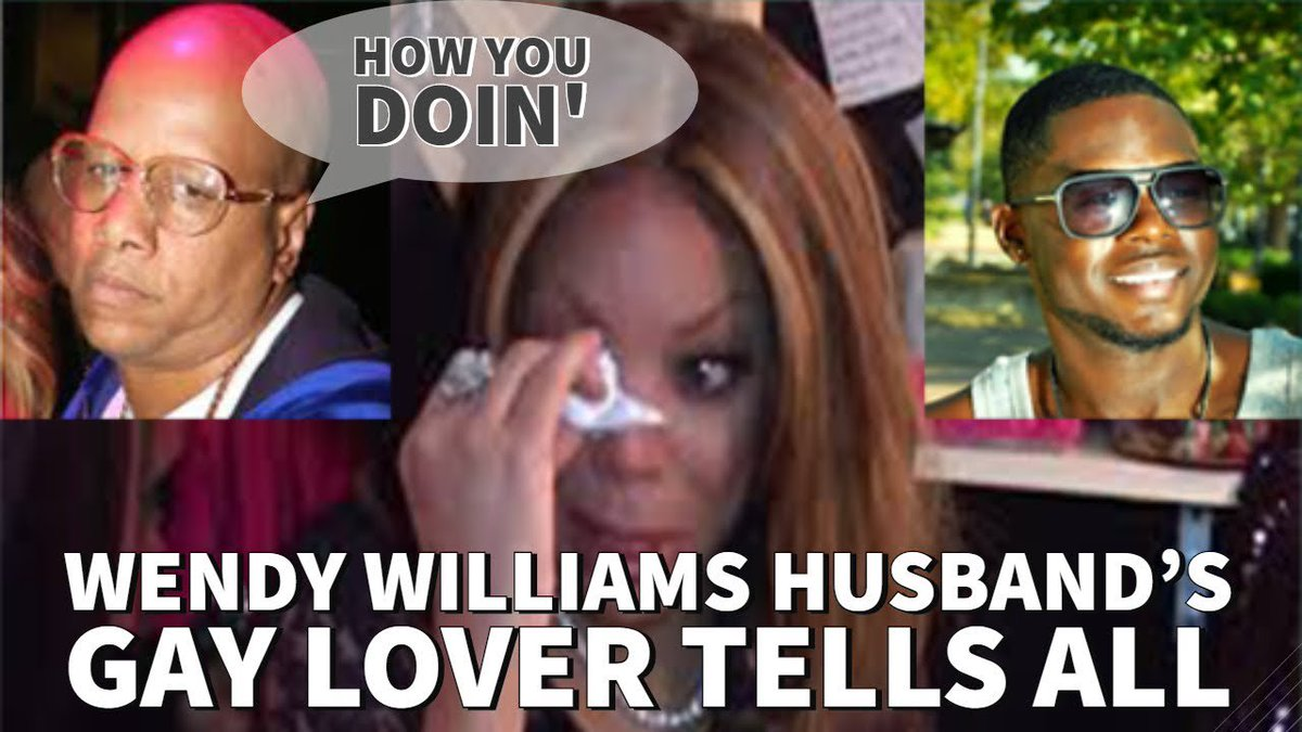 Wendy Williams Husbands Gay Lover Tells All In Interview! #KevinHunter #WendyWilliams #AveonFalstar - YouTube ow.ly/fff330ormv5