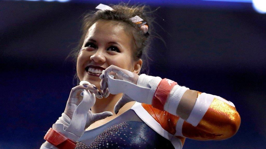 Injured gymnast Samantha Cerio sets goal to walk down aisle at her wedding  https:// kare11.tv/2IvSbA0  &nbsp;  <br>http://pic.twitter.com/KZ8C121zc7