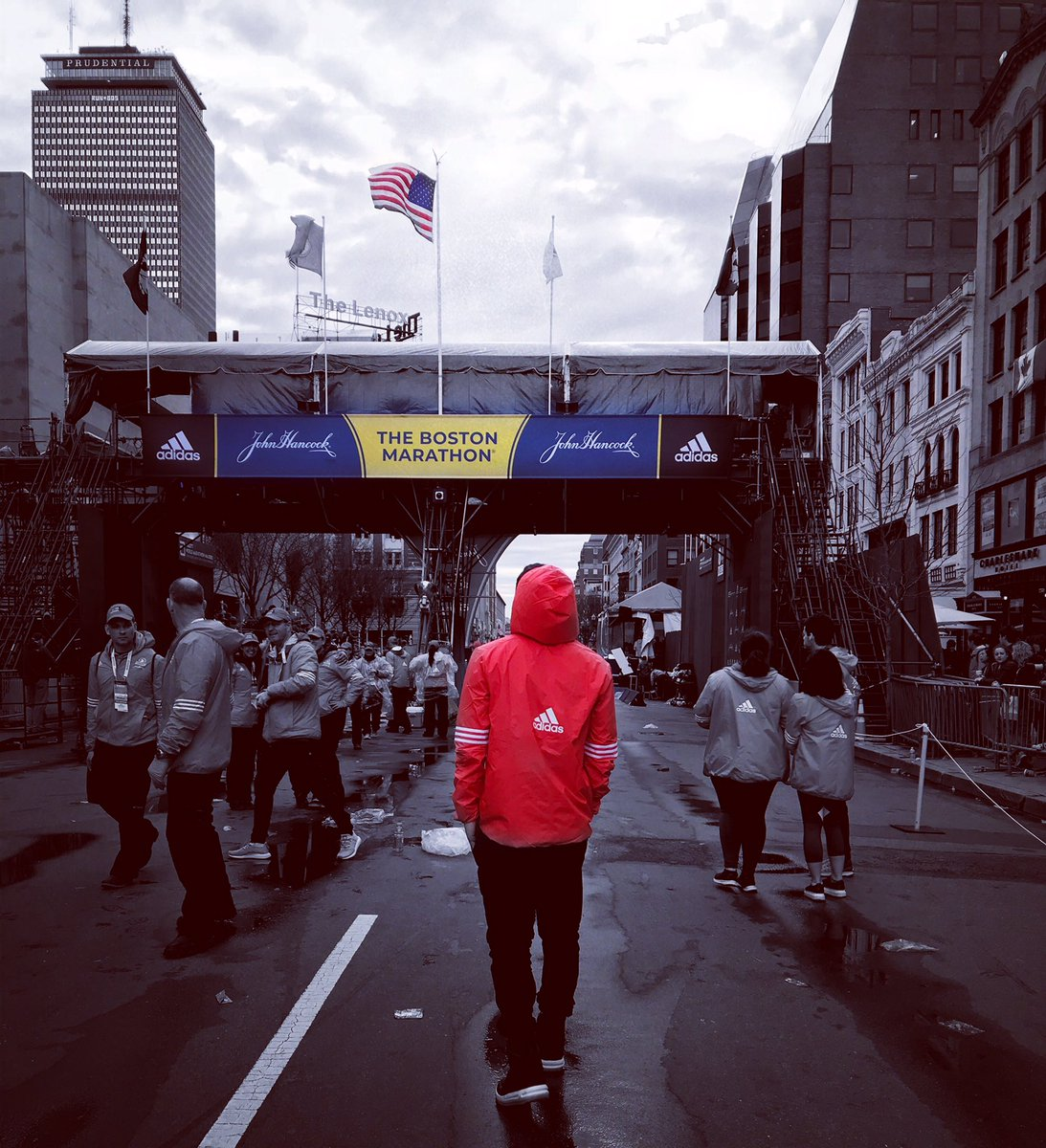 Thankful to be apart of the medical team for the 123rd Boston Marathon  #BostonStrong  #MarathonMonday<br>http://pic.twitter.com/3tzaCrk1qA
