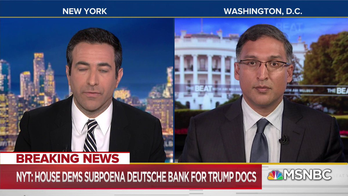TheBeat w/Ari Melber's photo on Deutsche Bank