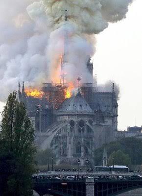 ノートルダム大聖堂の火災