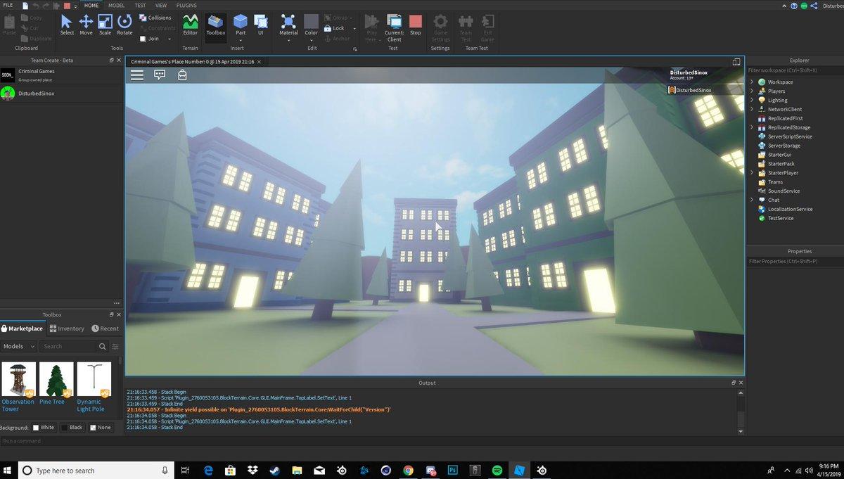 Roblox Studio Infinite Yield Possible | Roblox Free Backpack