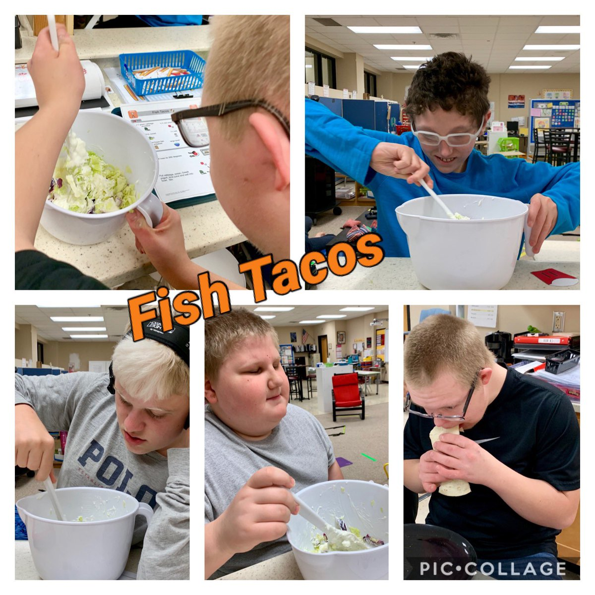 Thank you @n2y for the easy fish taco recipe!! They were a hit! #weRmilan #n2y https://t.co/Wn2wMtn7H0