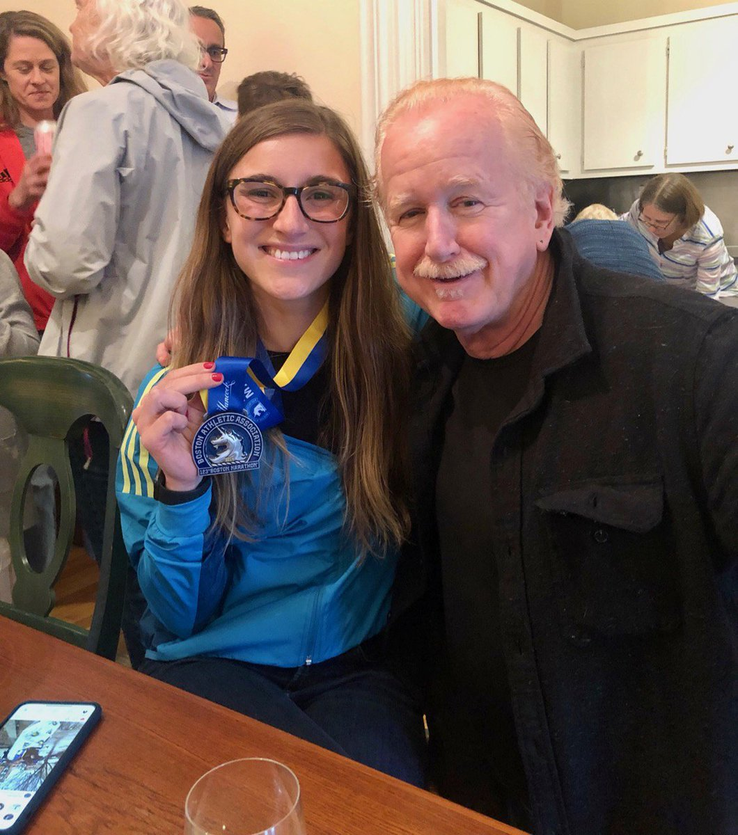 My daughter, Aurora ran the 123rd Boston Marathon today and finished in 3:52:34! An unbelievable accomplishment! <br>http://pic.twitter.com/Na8D61A9pm