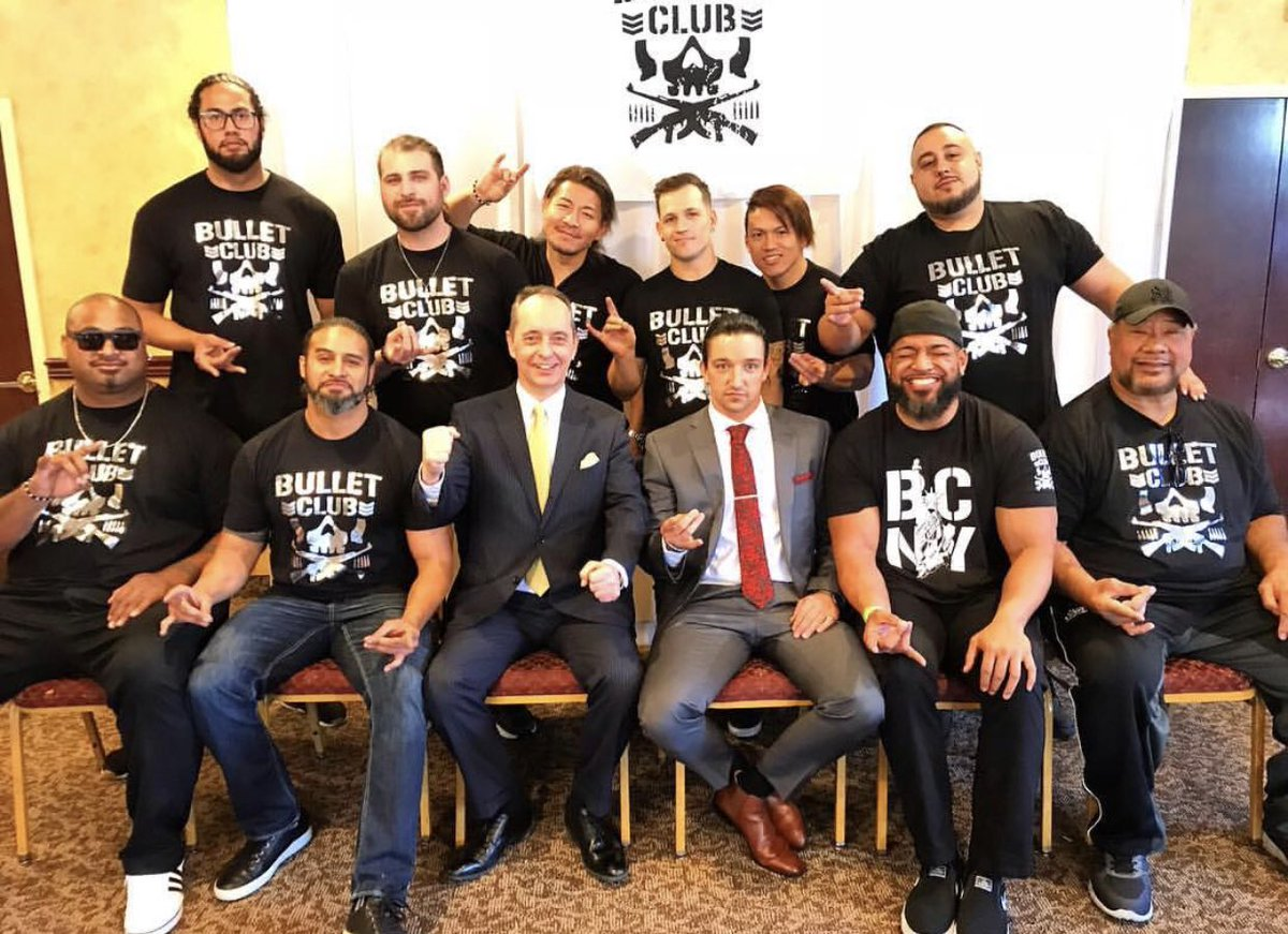 Would you like to see all of the Bullet Club on the Australian tour? <br>http://pic.twitter.com/NAwVgWO320
