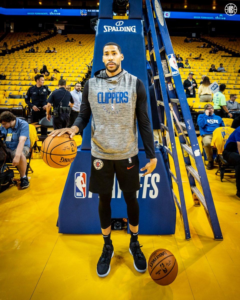 Focused.  #ClipperNation | #NBAPlayoffs