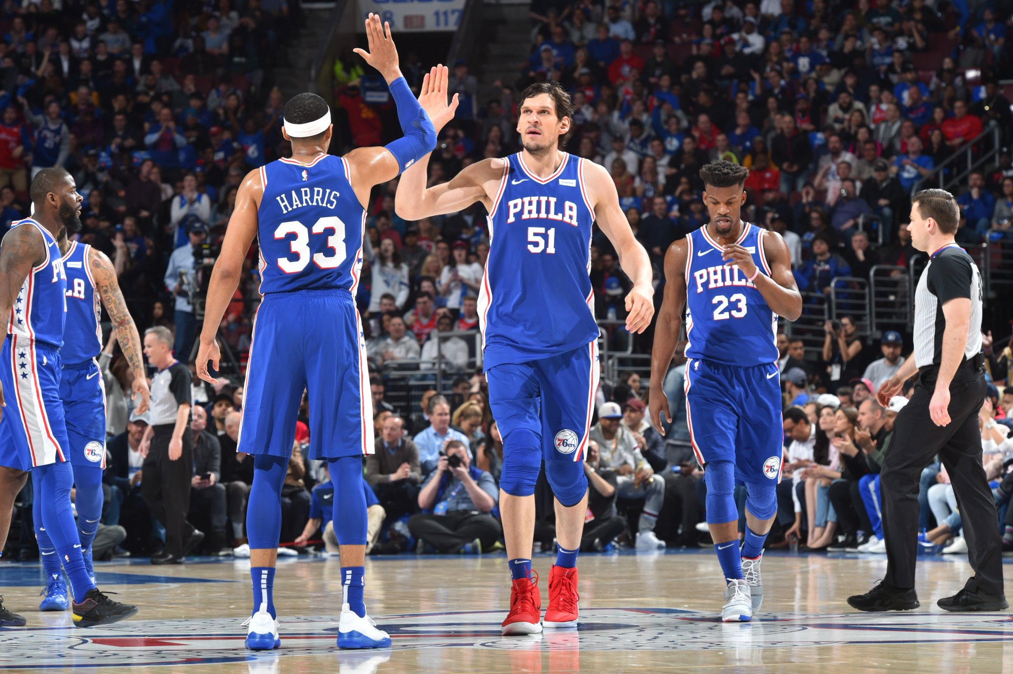 The @sixers are outscoring BKN 39-15 in the 3Q! #NBAPlayoffs   #PhilaUnite 104 #WeGoHard 79  ��: @NBAonTNT https://t.co/piAuGTRVie