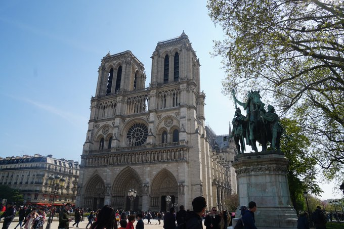 #NotreDameCathedralFire Photo