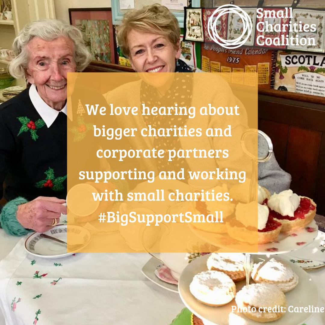 Small Charities Coalition's photo on #charitytuesday