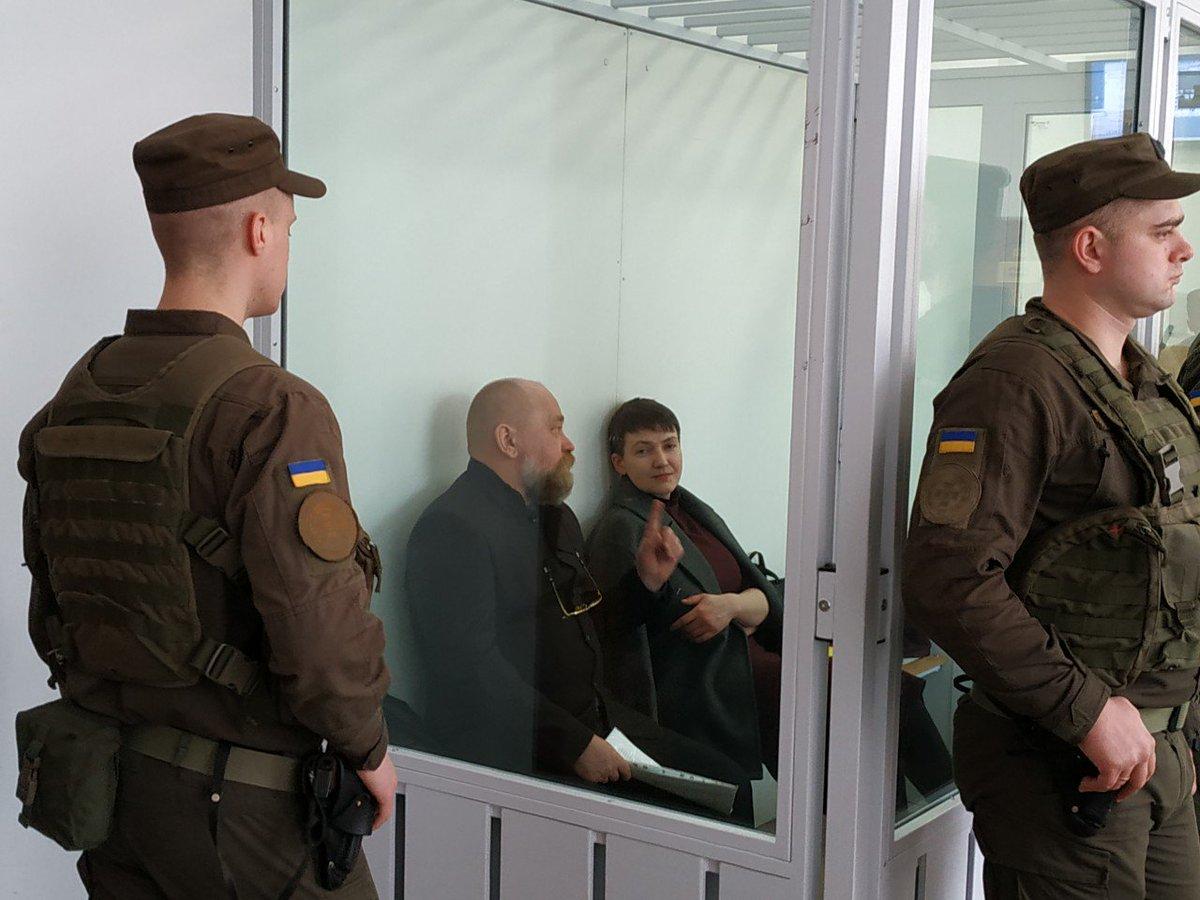 Савченко отпустили на свободу