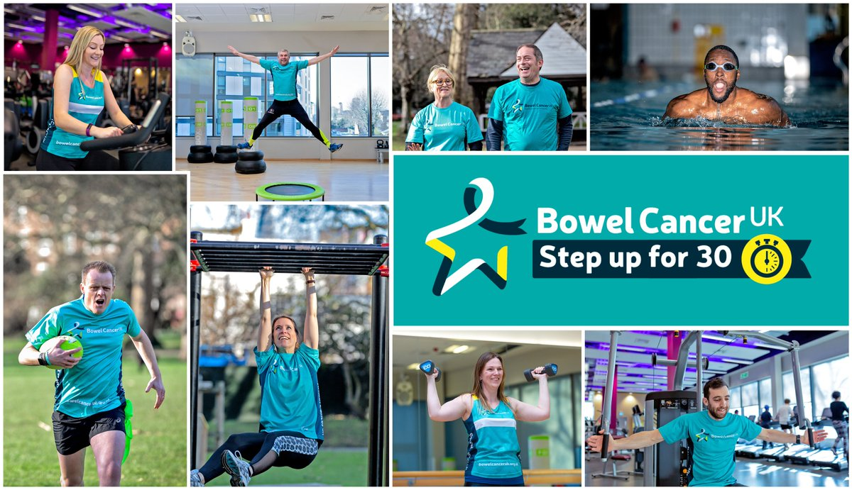 #stepupfor30! We're helping @BowelCancerUK spread its message via a #broadcast comms strategy to raise awareness around bowel cancer and the importance of exercise. #BowelCancerAwarenessMonth