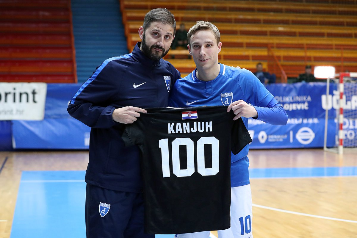 """Futsal Dinamo on Twitter: """"Congrats to our Davor Kanjuh for ..."""