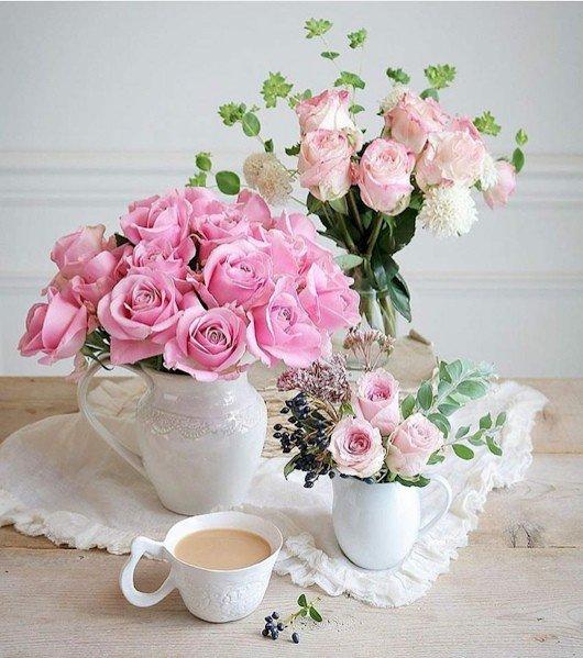 фото ммс доброе утро с цветами дамы ценят