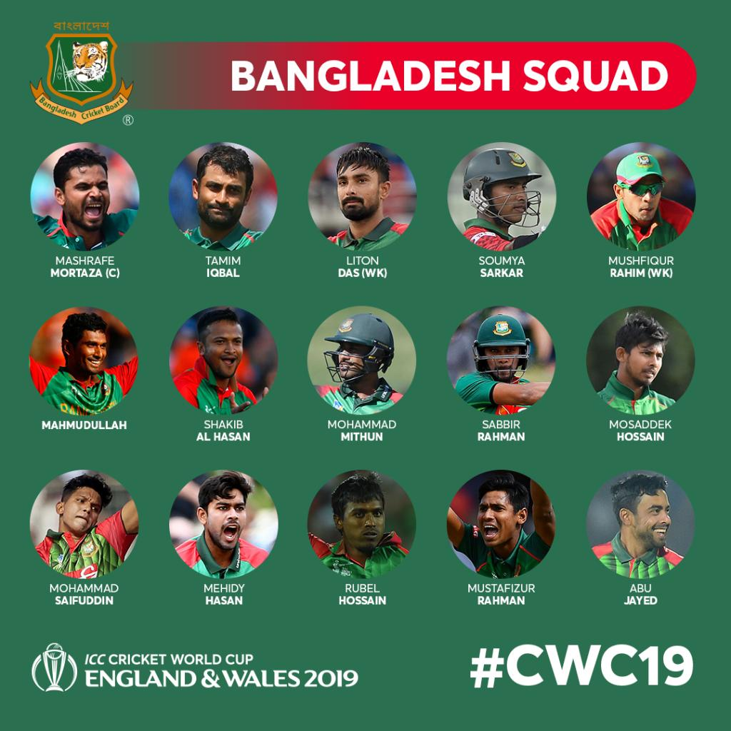 D4QYFqsWAAEwBQa - Cricket World Cup 2019: All the squads