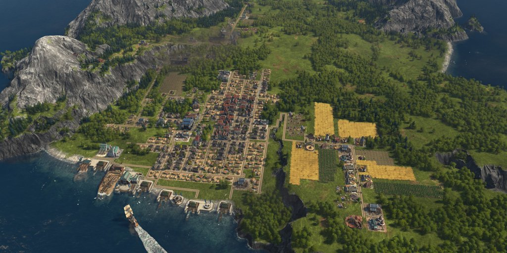 Anno 1800 is now available on Twitter: