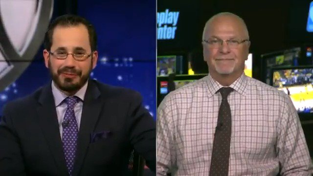 Joe Borgia, NBA Senior Vice President of Replay & Referee Operations, joined @NBATV to discuss a unique play from Monday's NBA Playoff action.