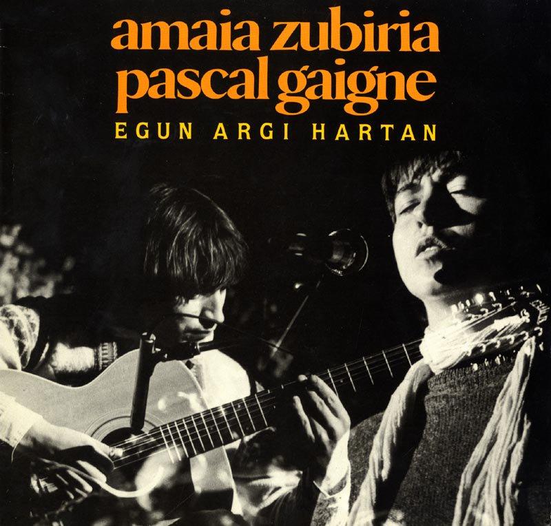 """#gaurkodiskoa """"Egun argi hartan"""" (Amaia Zubiria eta Pascal Gaigne, 1985) 🎧 http://www.badok.eus/euskal-musika/amaia-zubiria/egun-argi-hartan…"""