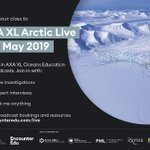 The excellent #ArcticLive takes place 1-8 May 2019. Aimed at ...