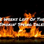 Don't miss out on our amazing deal, only 2 more weeks left!  Buy a smoker in April and get two rubs, 2 sauces and 2 bags of wood chips for free!  #SpringSale #SmokerSale #Smoker #Smokers #BBQ #CommercialBBQ #CommercialKitchens #Restaurants