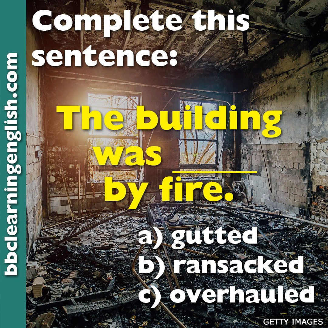 BBC Learning English's photo on #fire