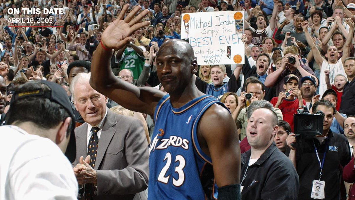 On This Date: In 2003, Michael Jordan played his final NBA game against the 76ers.